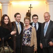 Graeme Groom & his family